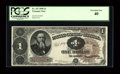 Fr. 347 $1 1890 Treasury Note PCGS Extremely Fine 40