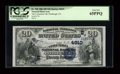 National Bank Notes:Pennsylvania, Pittsburgh, PA - $20 1882 Date Back Fr. 550 The Columbia NB Ch. #(E) 4910. ...