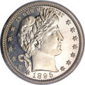 Proof Barber Quarters, 1895 25C PR67 Cameo PCGS....