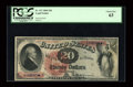 Large Size:Legal Tender Notes, Fr. 127 $20 1869 Legal Tender PCGS Choice New 63....