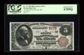 National Bank Notes:Missouri, Saint Louis, MO - $5 1882 Brown Back Fr. 477 The State NB Ch. # (M)5172. ...