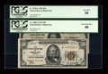 Small Size:Federal Reserve Bank Notes, Fr. 1870-L $20 1929 Federal Reserve Bank Note. PCGS Very Fine 30. Fr. 1880-J $50 1929 Federal Reserve Bank Note. PCGS Extremel... (Total: 2 notes)