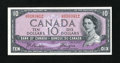Canadian Currency: , BC-32b $10 1954. ...