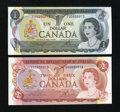 Canadian Currency: , Pair of Serial Number 13 Notes.. ... (Total: 2 notes)