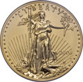 Modern Bullion Coins, 2006-W $50 One Ounce Gold Reverse Proof PR70 PCGS....