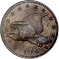 Patterns, 1854 P1C Flying Eagle Cent, Judd-164 Original, Pollock-189, R.5,PR65 Brown NGC....