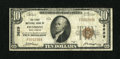 National Bank Notes:West Virginia, Piedmont, WV - $10 1929 Ty. 1 The First NB Ch. # 3629. ...