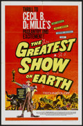 """Movie Posters:Drama, The Greatest Show On Earth (Paramount, R-1967). One Sheet (27"""" X 41""""). Drama...."""