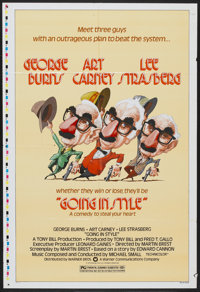 """Going in Style (Warner Brothers, 1979). One Sheet (27"""" X 41""""). Comedy"""