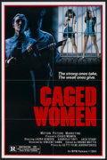 """Movie Posters:Action, Caged Women (MPM, 1984). One Sheet (27"""" X 41""""). Action...."""