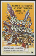 "Movie Posters:Science Fiction, The Monolith Monsters (Universal International, 1957). One Sheet(27"" X 41""). Science Fiction...."