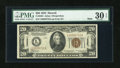 Small Size:World War II Emergency Notes, Fr. 2304 $20 1934 Hawaii Mule Federal Reserve Note. PMG Very Fine 30 EPQ.. ...
