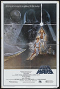 "Movie Posters:Science Fiction, Star Wars (20th Century Fox, 1977). One Sheet (27"" X 41"") Style Aand Pressbook (Multiple Pages). Science Fiction.... (Total: 2Items)"