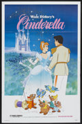 "Movie Posters:Animated, Cinderella (Buena Vista, R-1981). One Sheet (27"" X 41"") and Pressbook (Multiple Pages). Animated.... (Total: 2 Items)"