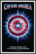 "Movie Posters:Action, Captain America (Columbia/Tristar, 1991). One Sheet (27"" X 41"") SSAdvance. Action...."