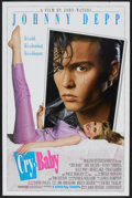 "Movie Posters:Comedy, Cry-Baby (Universal, 1990). One Sheet (27"" X 41"") DS Advance. Comedy...."