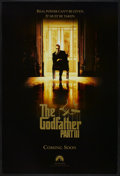 "Movie Posters:Crime, The Godfather Part III (Paramount, 1990). One Sheet (27"" X 40"") SSAdvance. Crime...."
