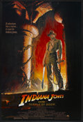 "Movie Posters:Adventure, Indiana Jones and the Temple of Doom (Paramount, 1984). One Sheet(27"" X 40"") Style A. Adventure...."