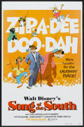 "Movie Posters:Animated, Song of the South (Buena Vista, R-1980). One Sheet (27"" X 41"") and Pressbook (Multiple Pages). Animated.... (Total: 2 Items)"