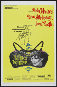 "The Bliss of Mrs. Blossom (Paramount, 1968). One Sheet (27"" X 41""). Comedy"