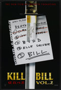 "Movie Posters:Action, Kill Bill: Vol. 1 (Miramax, 2003). One Sheet (27"" X 40"") DS Advance. Action...."