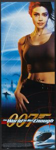 "Movie Posters:James Bond, The World is Not Enough (MGM, 1999). Door Panel (26"" X 72"") SSDenise Richards Style. James Bond...."