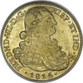 Colombia, Colombia: Ferdinand VII gold 8 Escudos 1815-JF NR,...