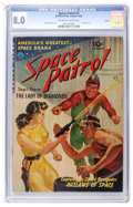 Golden Age (1938-1955):Science Fiction, Space Patrol #1 Aurora pedigree (Ziff-Davis, 1952) CGC VF 8.0Off-white to white pages....