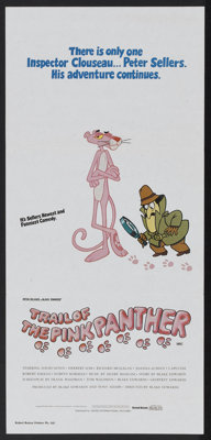 "Trail of the Pink Panther (United International Pictures, 1982). Australian Daybill (13"" X 28""). Comedy"