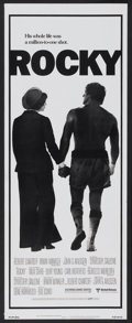 "Movie Posters:Sports, Rocky (United Artists, 1977). Insert (14"" X 36""). Sports...."