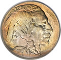 Buffalo Nickels, 1913 5C Type One MS68 PCGS. CAC....