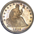 Seated Quarters, 1839 25C No Drapery MS66 NGC....