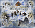 Autographs:Photos, 1996 New York Yankees Team Signed Photo....