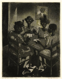 PROPERTY OF A PRIVATE FORT WORTH COLLECTION  BLANCHE MCVEIGH (American, 1895-1970) Group of Three Etching