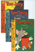 Golden Age (1938-1955):Cartoon Character, Tom and Jerry #116-119 and 121 File Copy Group (Dell, 1954)Condition: Average VF/NM.... (Total: 5 Comic Books)