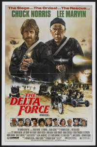 """The Delta Force Lot (Cannon, 1986). One Sheets (2) (27"""" X 41""""). Action.... (Total: 2 Items)"""