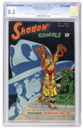 Golden Age (1938-1955):Crime, Shadow Comics V7#11 (Street & Smith, 1948) CGC VF+ 8.5 Off-white to white pages....