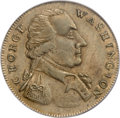 Colonials, Undated MEDAL Washington Success Medal, Small Size, Plain Edge MS62PCGS....