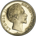 German States:Bavaria, German States: Bavaria. Ludwig II gold 20 Mark 1872D,...