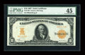 Large Size:Gold Certificates, Fr. 1168 $10 1907 Gold Certificate PMG Choice Extremely Fine 45....