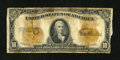 Large Size:Gold Certificates, Fr. 1173a $10 1922 Gold Certificate Good....