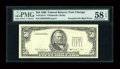 Error Notes:Third Printing on Reverse, Fr. 2124-G $50 1990 Federal Reserve Note. PMG Choice About Unc 58 EPQ.. ...