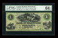 Canadian Currency: , Brantford, CW- The Bank of Brantford $1 Nov. 1, 1859 Ch. #40-10-02-02a. ...