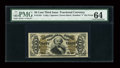 Fractional Currency:Third Issue, Fr. 1341 50c Third Issue Spinner Type II PMG Choice Uncirculated 64....