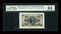Fractional Currency:Third Issue, Fr. 1253SP 10c Third Issue Wide Margin Face PMG Choice Uncirculated 64....