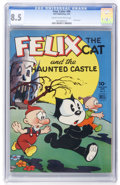 Golden Age (1938-1955):Cartoon Character, Four Color #46 Felix the Cat (Dell, 1944) CGC VF+ 8.5 Cream tooff-white pages....