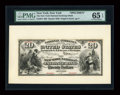 Large Size:Demand Notes, New York, NY - $20 Original Fr. 424 The New York National ExchangeBank Ch. # 345 Face Specimen.. ...