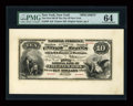 Large Size:Demand Notes, New York, NY - $10 Original Fr. 409 The First National Bank of theCity of New York Ch. # 29 Face and Back Specimens.... (Total: 2notes)