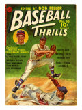 Golden Age (1938-1955):Non-Fiction, Baseball Thrills #10 (#1) (Ziff-Davis, 1951) Condition: VF....