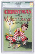 Golden Age (1938-1955):Miscellaneous, Four Color #172 Christmas with Mother Goose (Dell, 1947) CGC Qualified NM- 9.2 Off-white pages....